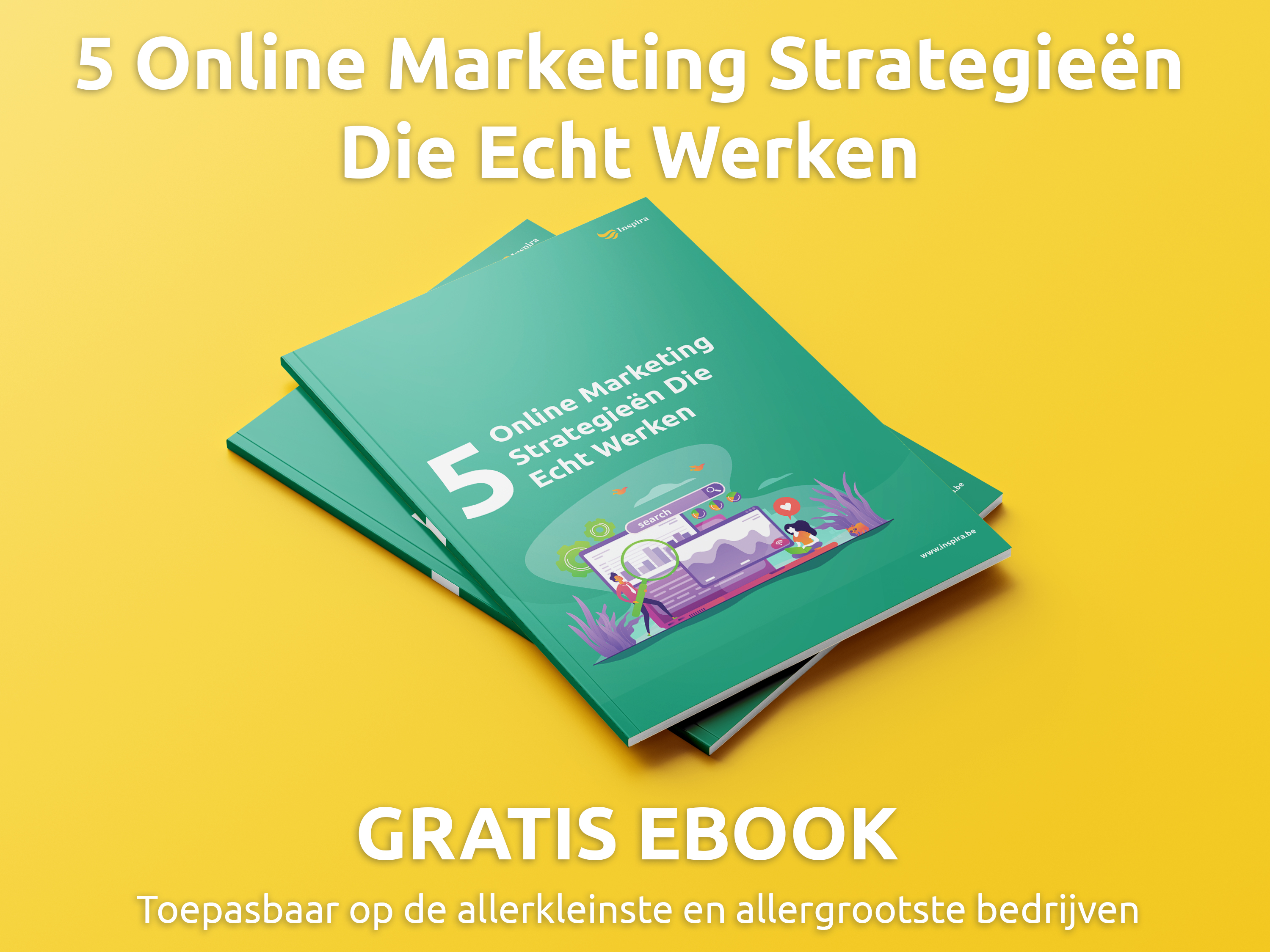 Gratis eBook: 5 Online Marketing Strategieën Die Echt werken