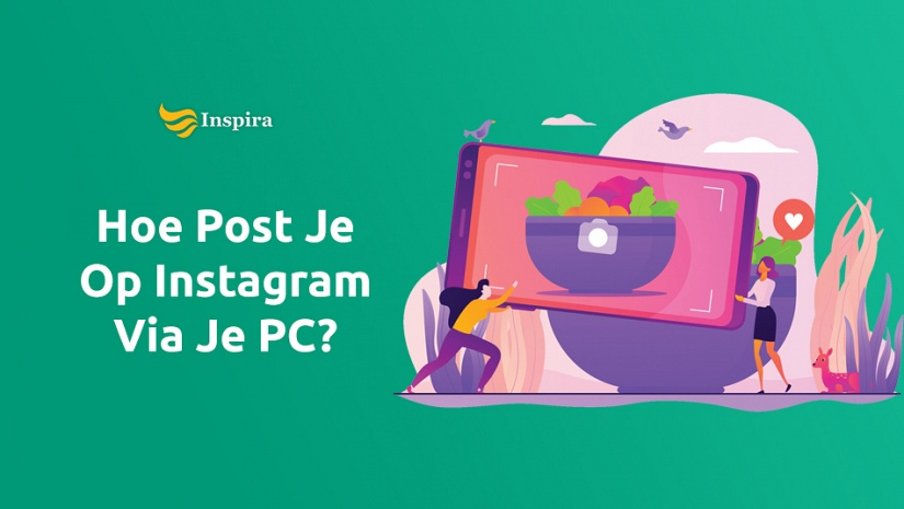 Hoe post je op Instagram via je PC?