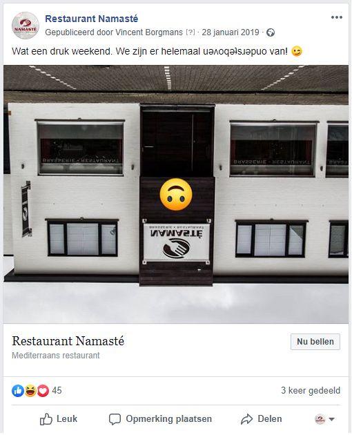 sociale media berichten