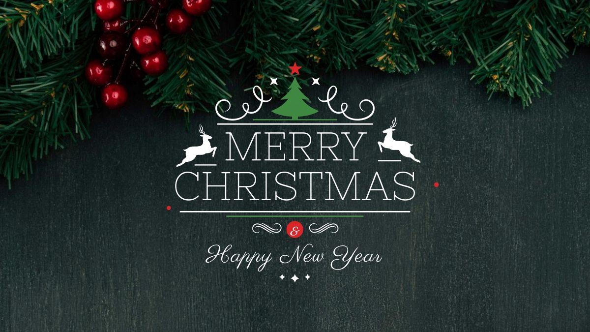 Wens je volgers een zalig kerstfeest en gelukkig nieuwjaar