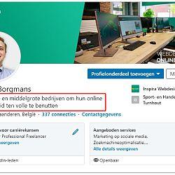 Je LinkedIn Profiel Optimaliseren: afbeelding 3
